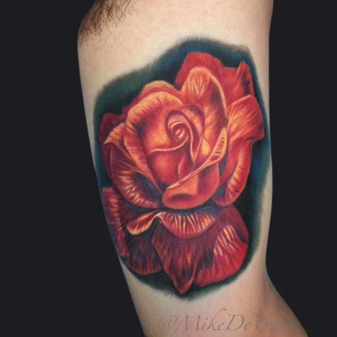 Mike DeVries - Rose Tattoo