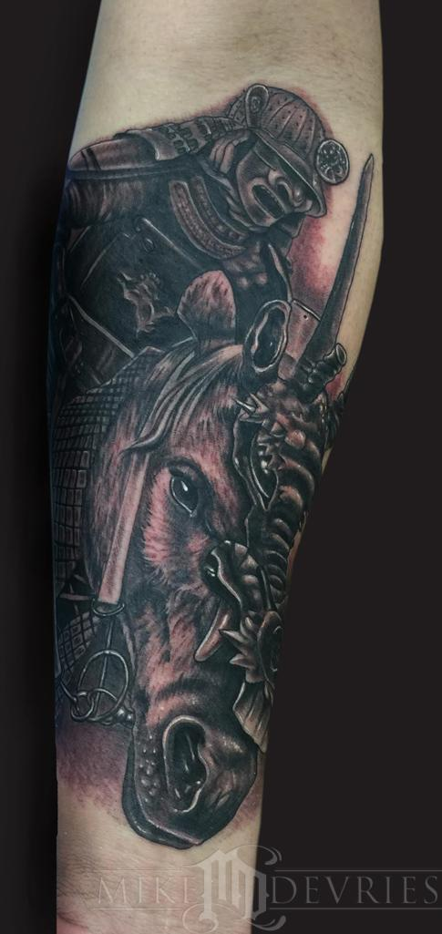 Tattoos - Samurai Tattoo - 102457