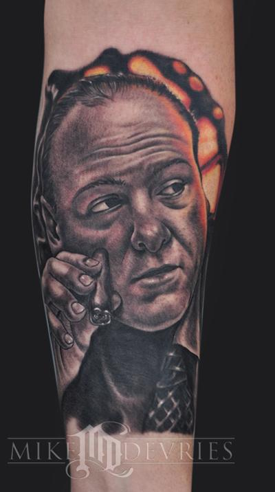 Tattoos - Tony Soprano  - 60398