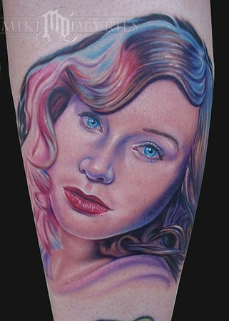 Mike DeVries - Tori Amos Tattoo