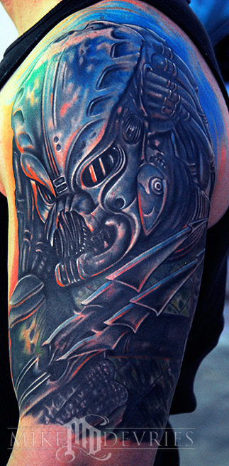 Tattoos - Predator - 26283
