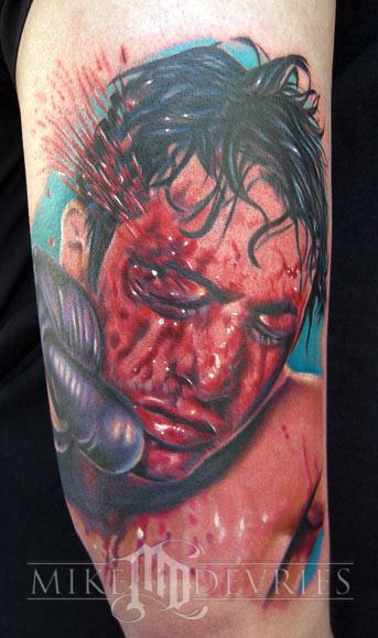 Tattoos - Raging Bull Tattoo - 15370