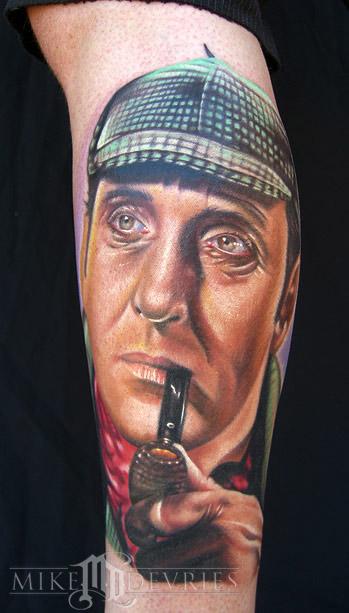 Tattoos - Sherlock Holmes - 16580