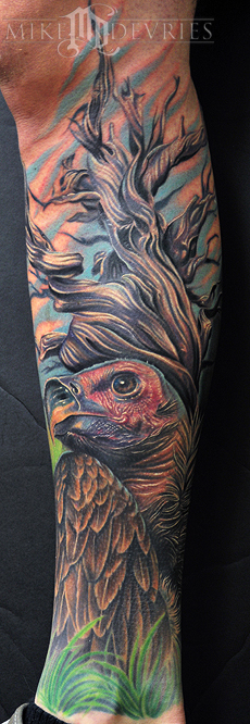 Tattoos - Vulture Tattoo - 32543
