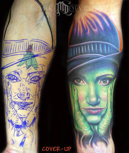 Tattoos - Witch Tattoo - 16530