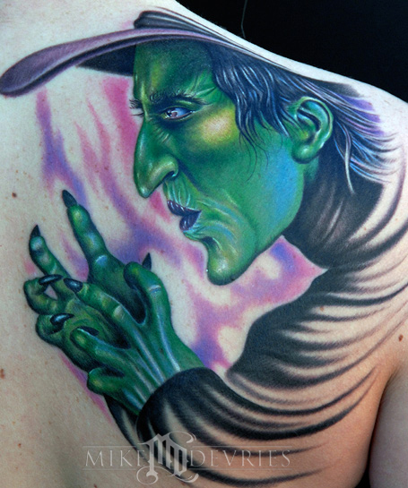 Tattoos - Wicked Witch - 23757