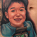 Child Portrait Tattoo Tattoo Design Thumbnail