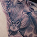 Tattoos - Giraffe Tattoo - 75950