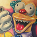 Tattoos - Krusty the Clown - 50111
