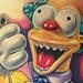 Tattoos - Krusty the Clown - 50111