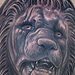 Tattoos - Lion Statue Tattoo - 75750