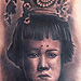 Mother Portrait Back In The Day Tattoo Design Thumbnail