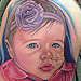 Tattoos - Baby Girl Tattoo - 70317