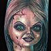 Bride of Chucky Tattoo Tattoo Design Thumbnail
