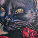 Tattoos - Black Cat - 34857