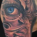 Tattoos - Face Sleeve - 59554