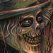Hat Box Ghost Tattoo