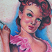 Tattoos - Pin Up Tattoo - 36208