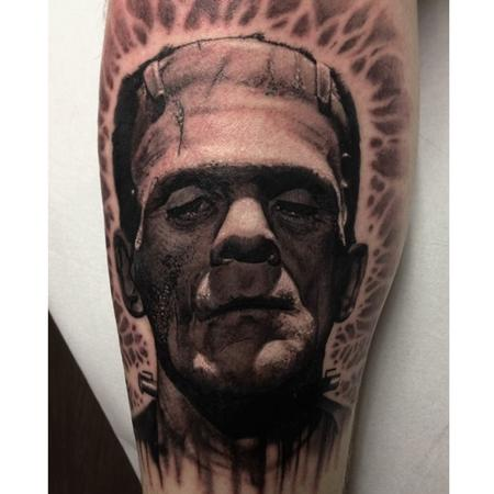 Boris Karloff Tattoo Design