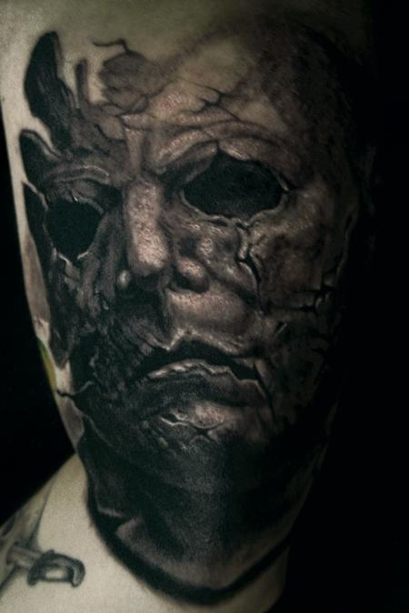 Tattoos - Michael Myers of Rob Zombie's Halloween - 73658