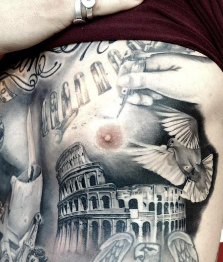 Tattoos - Roman Dove - 84209