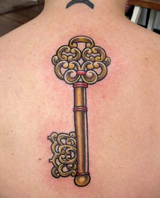 Tattoos - Key - 14721