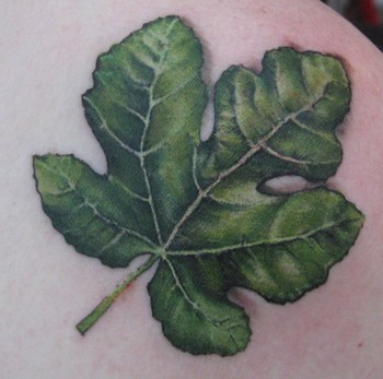 Tattoos - leaf - 46421