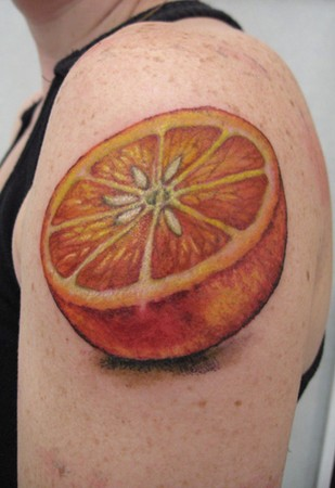 Tattoos - orange  - 46440