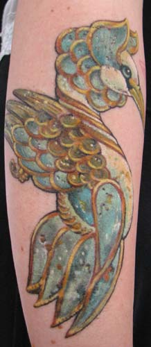 Tattoos - james christensen's swan - 26270