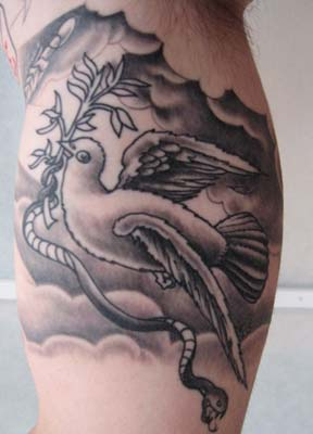 Tattoos - Dove - 14728