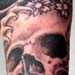 Tattoos - Skull in Water - 14726