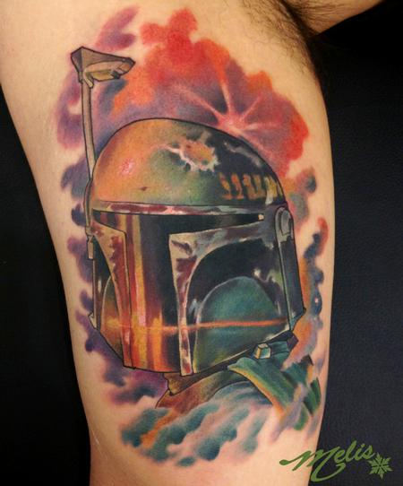 Tattoos - Spacey Boba Fett - 76816