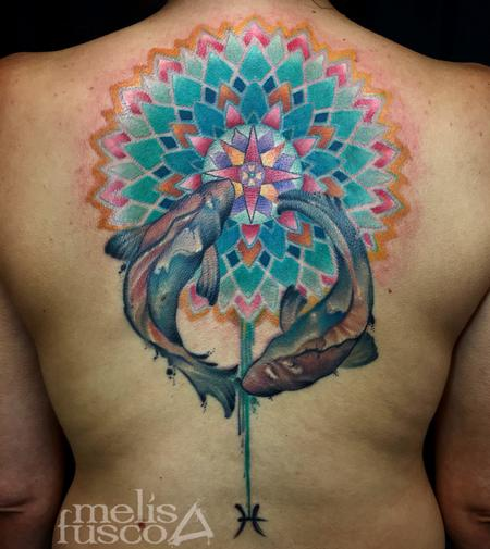 Tattoos - Pisces Mandala - 122271