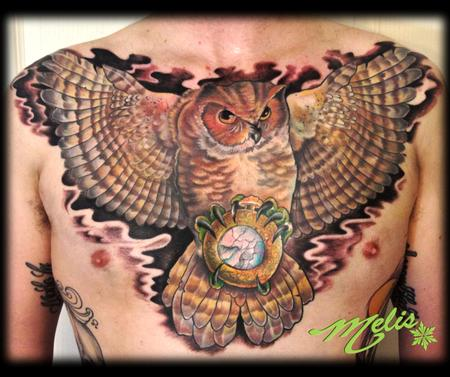 Melissa Fusco - owl chest