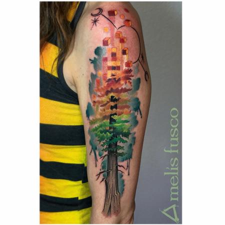 Melissa Fusco - Autumn Aspen Inspired Redwood