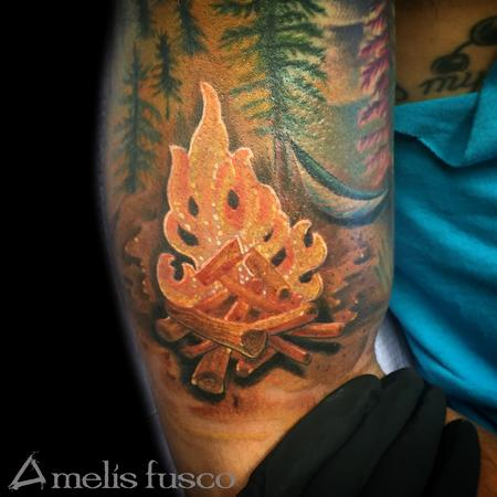 Tattoos - Camp Fire - 114823