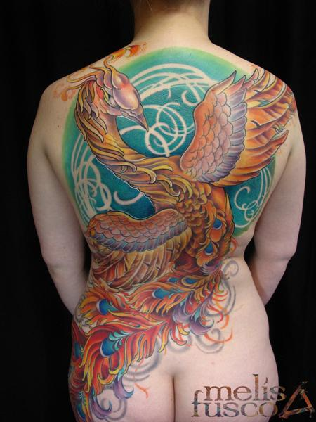 Tattoos - Phoenix first tattoo - 114827