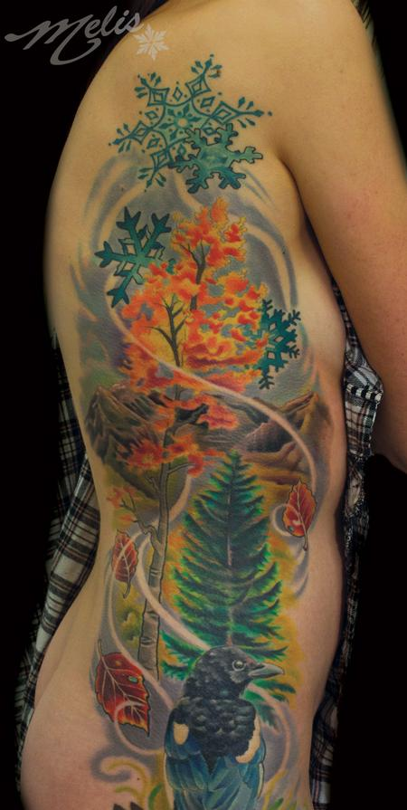 Off the map tattoo melissa fusco tattoos page 2 for Best tattoo artist in colorado springs