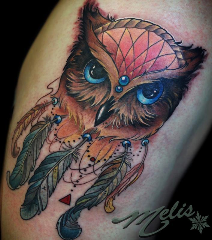 Venetian Tattoo Gathering Tattoos Spiritual Owl