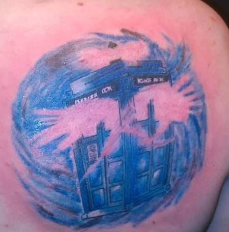 Tattoos - Tardis - 131682