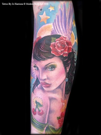 Tattoos - Angel - 35502