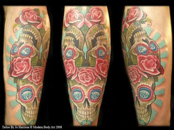 Tattoos - Sugar Skulls - 35493