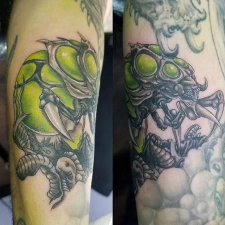 Tattoos - Alien Insect - 132013