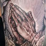 Praying Hands Tattoo Design Thumbnail