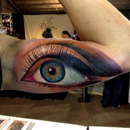 c0debb40e More Info Cesar Perez Tattoos - color realistic eye tattoo