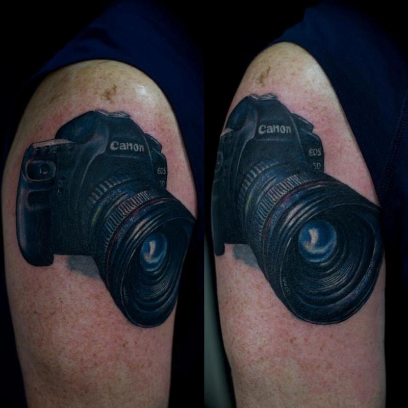 Tattoos - Cannon EOS 5D Mark ii Camera - 72819