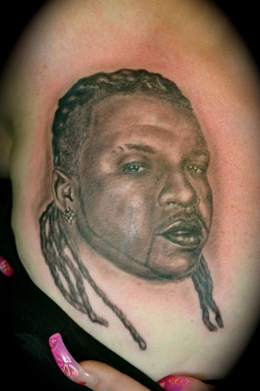 Tattoos - Husbands Portrait - 62097