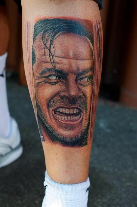 Tattoos - The Shining Color Portrait  - 79555
