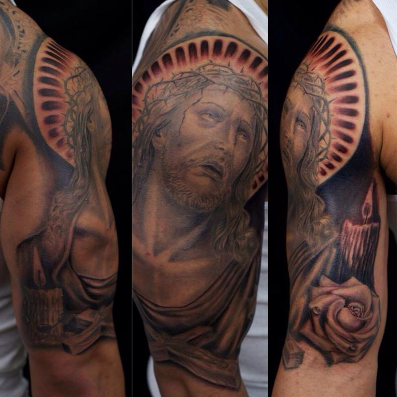 Tattoos - Jesus Crown of Thorns - 82361