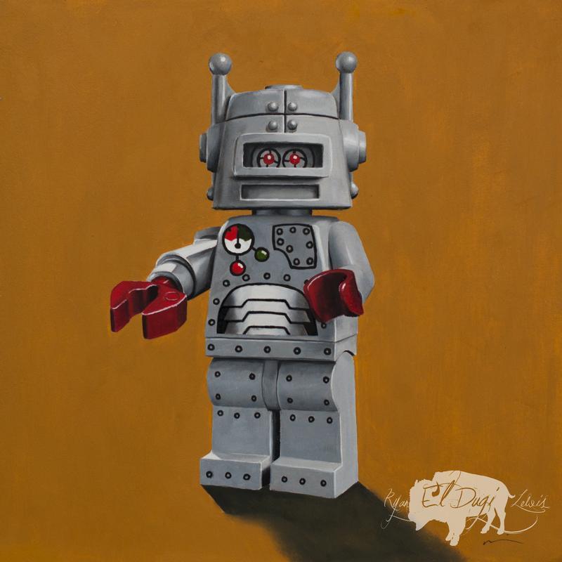Tattoos - Lego Robot - 114325